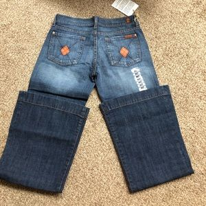 W27 7 of all mankind jeans